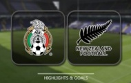 Highlights: Mexico 2-1 New Zealand (Bảng A Confed Cup 2017)