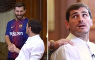 Từng đối mặt nhiều lần, Iker Casillas vẫn nhận nhầm Messi