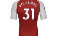 Công bố số áo Arsenal: Kolasinac số 31, CĐV hốt hoảng vì Welbeck