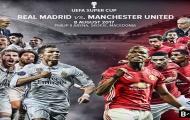Real Madrid vs Manchester United - Trận long trời lở đất