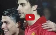 Cristiano Ronaldo và Gerard Pique từng rất thân nhau trước khi đối địch