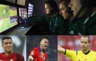 Khi cầu thủ 'chào thua' với công nghệ mới của FIFA tại Confeds Cup