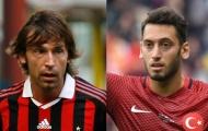 Với Calhanoglu, Milan đã tìm lại được Pirlo?