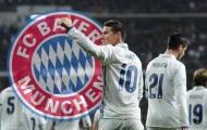 Điểm tin tối 11/07: Bayern mượn thành công James; Man Utd bỏ cuộc vụ Bakayoko