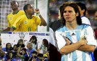 Vào ngày này  15.7  Messi lần đầu về nhì