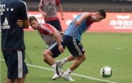 James Rodriguez cực nhọc giành vị trí trên sân tập của Bayern