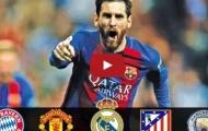 Lionel Messi - cầu thủ của những trận cầu lớn