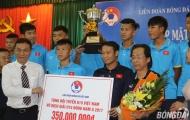 U15 Việt Nam được thưởng lớn trong ngày được vinh danh