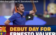 Valverde căng thẳng tột độ trong trận đầu chỉ đạo Barca