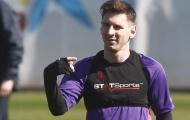 Máy đo thể trạng của Messi báo kết quả gây sốc