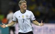 Bastian Schweinsteiger và thống kê vinh danh tuổi 33