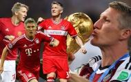 Vào ngày này |1.8| Schweinsteiger, cỗ xe tăng huyền thoại