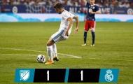 Thi đấu lơ là, Real nhọc nhằn đánh bại MLS All-Stars trong loạt sút luân lưu