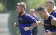 Cầu thủ Roma 'mệt bở hơi tai' trong ngày trở về Trigoria