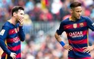 Neymar không muốn núp bóng Messi