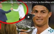 Màn ăn mừng Siêu cúp TBN rất ngầu của Ronaldo