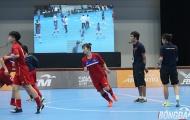 Nữ Futsal Việt Nam được nghe nhạc Sơn Tùng M-TP trước đại chiến Thái Lan