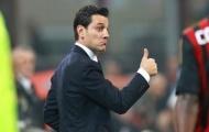 Vincenzo Montella hài lòng với sự tiến bộ của AC Milan
