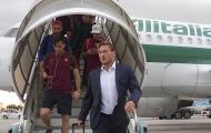 Totti 'dắt' đàn em đến Bergamo, chuẩn bị khai chiến