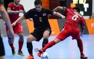 Futsal Indonesia gây địa chấn khi đánh bại đối thủ Thái Lan