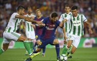 Highlights: Barcelona 2-0 Real Betis (Vòng 1 La Liga 2017/18)