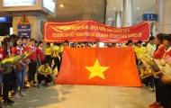 Tuyển nữ Việt Nam: Ngày trở về của những người hùng