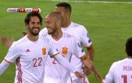 David Silva chơi khá hay trận gặp Liechtenstein