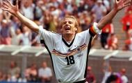 Sự nghiệp huy hoàng của Jurgen Klinsmann