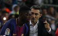 4 tiêu chí từ Valverde để quyết định Dembele có được đá chính