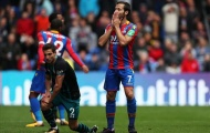 Crystal Palace thiết lập kỷ lục tệ hại chưa từng thấy ở Premier League