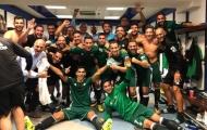 Thắng Real ngay tại Bernabeu, Betis ăn mừng như thể vô địch