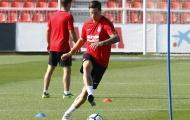 Torres tập luyện cật lực, quyết ghi bàn đầu tiên cho Atletico