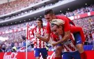 2 ngôi sao tỏa sáng, Atletico Madrid đánh chiếm ngôi nhì bảng của Sevilla