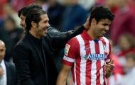 Có thêm 'pháo hạng nặng' Costa, Simeone mừng ra mặt