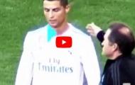 Cristiano Ronaldo không ăn mừng khi Dani Ceballos ghi bàn vào lưới Alaves