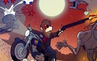 Biếm họa: Messi hóa kẻ hủy diệt, gánh cả Barca trên vai