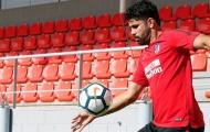 Diego Costa đã có buổi tập đầu tiên sau khi trở lại Atletico