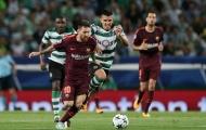 Sporting Lisbon 0-1 Barcelona: Khóa chặt Messi