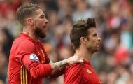Pique và Ramos lại khiến nội bộ tuyển Tây Ban Nha chia rẽ