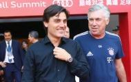 Montella 'tuyên chiến' Ancelotti: Hãy về làm trợ lý cho tôi