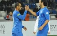 Rivaldo, Totti sát cánh đánh bại đội bóng của Crespo, Shevchenko