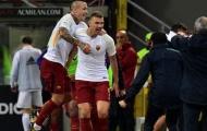 Hạ gục AC Milan, AS Roma tái hiện kỷ lục của chính mình