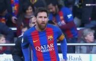 Lionel Messi làm khổ hàng thủ Las Palmas.