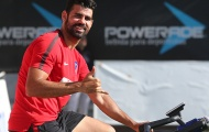 Costa ngày càng thoải mái trên sân tập Atletico