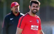 Cười tươi trên sân tập, Costa đã quên hẳn Chelsea