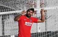 Diego Costa 'phá lưới' trong buổi tập mới nhất ở Atletico