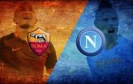 Thống kê trước trận Roma vs Napoli: Đỉnh và đỉnh