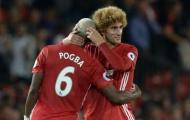 Ngay cả Mourinho cũng bó tay với Pogba và Fellaini