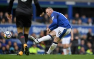 Tái hiện siêu phẩm 15 năm trước, Rooney cũng không thể cứu Everton