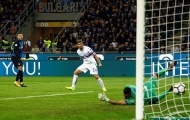 Cú volley không thể cản phá của Icardi vào lưới Sampdoria